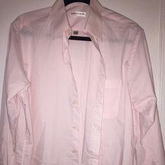 Men's Pierre Cardin Dress shirt Light pink. Worn. Like new. Pierre Cardin Tops Button Down Shirts