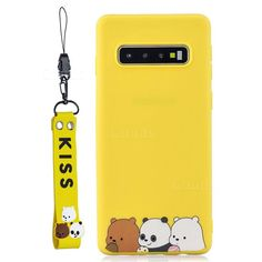 Yellow Bear Family Soft Kiss Candy Hand Strap Silicone Case for Samsung Galaxy inch) - Galaxy Cases - Guuds - Best of Wallpapers for Andriod and ios Kisses Candy, Iphone 7 Wallpapers, Phone Cases Samsung Galaxy, P8 Lite, Cute Phone Cases, Free Iphone, Galaxy Note 10, Galaxies, Design