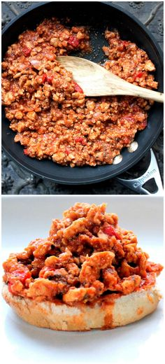 Healthy sloppy joes and Healthy on Pinterest