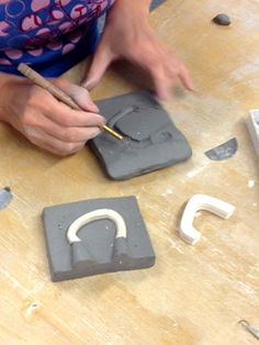 Handle Mold Process Image Heather Mae Erickson Ceramic Design heathermaeerickson.com