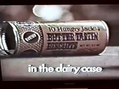 A 1970 TV commercial for Pillsbury Hungry Jack biscuits. Retro Recipes, Pillsbury, Tv Commercials, My Memory, Childhood Memories, Biscuits, Mom, Youtube, Crack Crackers