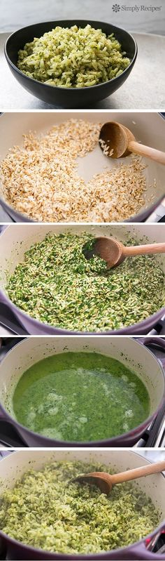 Check out this tasty food!!! Mexican Green Rice.