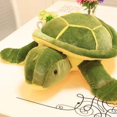 "1pcs 10"" 25cm Small Size Turtle Plush Tortoise Toy Cute Turtle Plush Pillow Stuffed Toy Cushion for Girls Vanlentine's Day Gift"