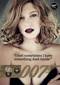 British men's lifestyle magazine Loaded features Bond Girl Léa Seydoux on the cover of their March issue.Léa Seydoux will play Dr. Spectre Movie, 007 Spectre, James Bond Movie Posters, James Bond Movies, James Bond Quotes, Bond Girls, Divas, James Bond Party, Service Secret