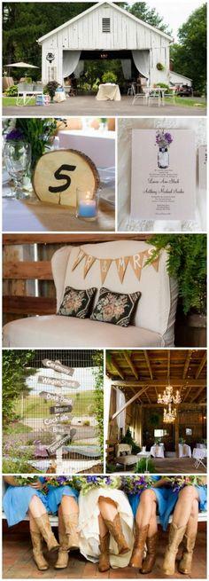 Chandeliers And Lights Barn Wedding
