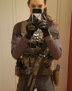 Women's Sizing Chart Ladies- tired of wearing men's tactical gloves that aren't the right fit? Airsoft Girls, Airsoft Gear, Tactical Wear, Tactical Gloves, Tactical Clothing, Military Guns, Military Women, Ar15 Pistol, Combat Gear