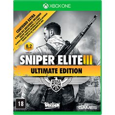 [Americanas] Game Sniper Elite 3 - Ultimate Edition + 9 DLCs - Xbox One R$29,90