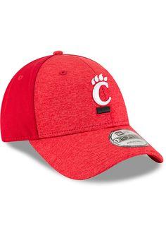 newest bebb8 c999b New Era Cincinnati Bearcats Shaded Front 9FORTY Adjustable Hat - Black,  Black, POLYESTER, Size ADJ