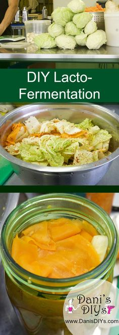 DIY Fermentation - Now this is REAL food! Full of probiotic goodness, this easy DIY fermentation process is foolproof and a sure thing when it comes to tummy health! <3 |danisdiys.com.