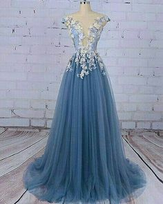Prom Dress For Teens, 2019 Beautiful Prom Dresses Scoop A-Line Sweep/Brush Train Long Prom Dress/Evening Dress, cheap prom dresses, beautiful dresses for prom. Best prom gowns online to make you the spotlight for special occasions. Princess Prom Dresses, Unique Prom Dresses, A Line Prom Dresses, Tulle Prom Dress, Beautiful Prom Dresses, Prom Dresses Online, Prom Party Dresses, Long Dresses, Prom Dresses Flowers