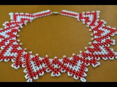 """Колье из бисера """"Кармелита"""" Мастер класс / Necklaces of beads. Beading - YouTube"""