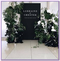 Wedding Ceremony Ideas Entrance Welcome Signs Ideas For 2019 Wedding Ceremony Ideas, Wedding Entrance, Wedding Signage, Wedding Themes, Wedding Designs, Backdrop Wedding, Modern Wedding Decorations, Modern Wedding Flowers, Ceremony Backdrop