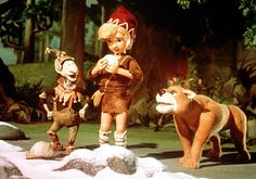 from Life and Adventures of Santa Claus christmas special, Rankin Bass 1985. Based on the book by L. Frank Baum.