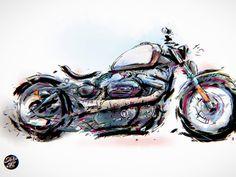 Harley Davidson Sportster Custom