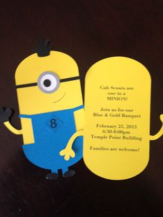 Then We Made...: Cub Scout are One in a Minion