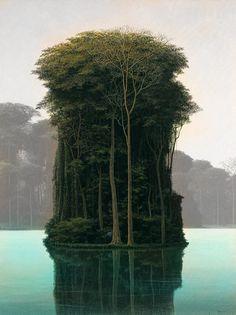 an island...