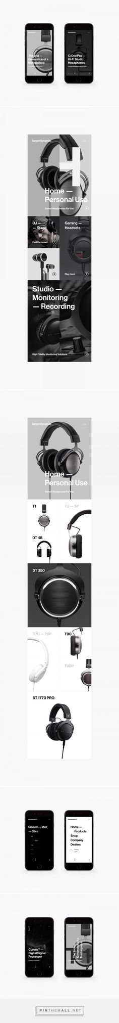 Beyerdynamic // BRDNMC on Behance - created via https://pinthemall.net