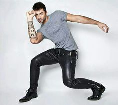Leather pants. On day hopefully I'll get a pair of this sexiness!