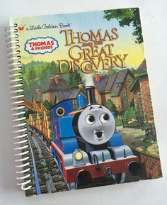 Thomas the Tank Engine Journal Notebook by PortElizabethVillage