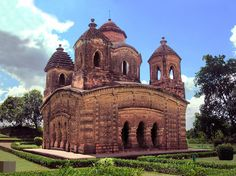 Terracotta Temple - Vishnupur, West Bengal, India (Photographic Print - Unframed)