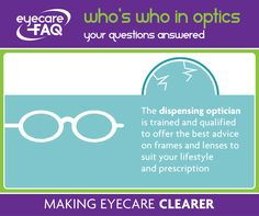 Do you know what a dispensing optician does?