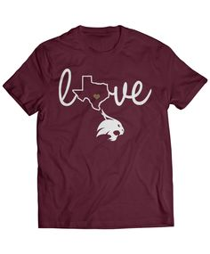 Texas State Bobcats Official Apparel - this licensed gear is the perfect clothing for fans. Makes a fun gift!