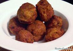 Albóndigas de lentejas http://www.recetasgratis.net/receta-de-albondigas-de-lentejas-57687.html