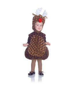 Belly Babies Holiday Reindeer Costume Child Toddler