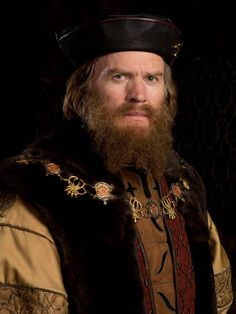 Richard Dillane as the Duke of Suffolk in Wolf Hall