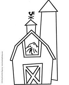 barn dance coloring pages - photo#39