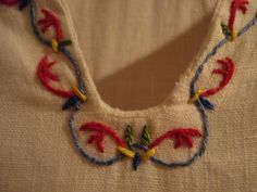 Medieval Embroidery #embroidery #medieval #handmade