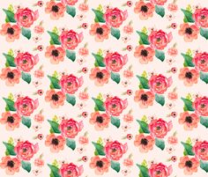 Floral Dreams fabric by shopcabin on Spoonflower - custom fabric