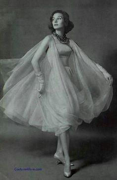 #vintage Lanvin Castillo 1959