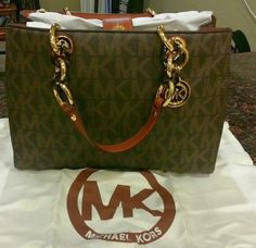 Michael Kors Checkbook wallet 100 % authentic brand new with tags comes with pen vanilla large Michael Kors Bags Wallets