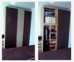 kleiderschrank ikea kallax stangen und die f e ber ebay innendesign pinterest schrank. Black Bedroom Furniture Sets. Home Design Ideas