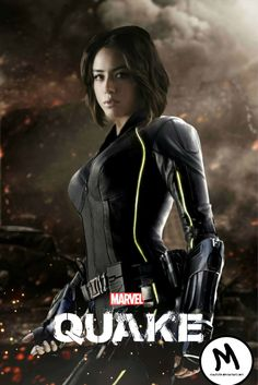 Chloe Bennet as Quake by mayfuite.deviantart.com on @DeviantArt