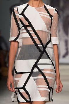 Resultado de imagen para geometric fashion design