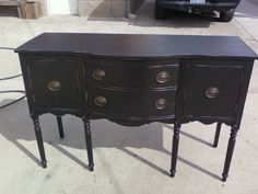 refinished buffet.. This is happening!