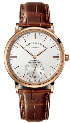 A-Lange-Sohne - Saxonia Automatic 2015. A new dial design that further enhances their intrinsic gracefulness.