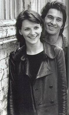 Juliette Binoche and Olivier Martinez