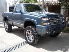 Chevy Stepside, Chevy 4x4, Lifted Chevy Trucks, Gm Trucks, Chevrolet Trucks, Pickup Trucks, Chevy Silverado Single Cab, Chevy Silverado 1500, Z71 Truck