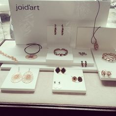 Filipines Joid'art Shop #Kathy&kathy with #joidart Barcelona pop up at NEST furniture and design store #joidartshops #joidart #jewelrydisplay