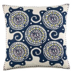 Whisk Decorative Pillow design by John Robshaw
