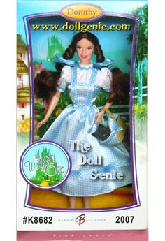 Somewhere far above a cyclone in Kansas, in the magical Land of Oz, Dorothy Gale and her little dog Toto try to find their way back home, meeting a colorful cast of characters along the way. Inspired by the great American classic, The Wizard of Oz Dorothy Barbie doll is timeless in that familiar blue and white gingham dress, ruby-red slippers and ribbons in her pigtailed hair. This doll and her faithful dog make a wonderful, lasting tribute to one of America?s all-time favorite films: The…