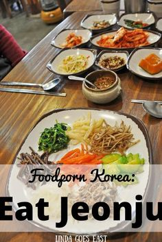 Jeonju is a wonderful traditional place in South Korea. It's not only famous for hanok houses but also food. Here's what you must eat when in Jeonju. Jeonju, South Korea Travel, Food Porn, Korean, Asian, Eat, Travel Tips, Ethnic Recipes, Travel Inspiration