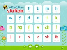 Best Speech Therapy Apps: Articulation Station by Little Bee - Re-pinned by @PediaStaff – Please Visit http://ht.ly/63sNt for all our pediatric therapy pins