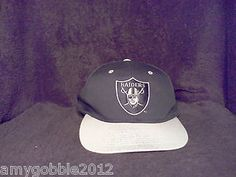 Vintage Raiders Snapback Hat $24 free priority shipping.