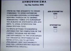 Δημοκρατία από τον τόπο που γεννήθηκε - Αποτελέσματα δημοψηφίσματος Personalized Items, Blog, Blogging