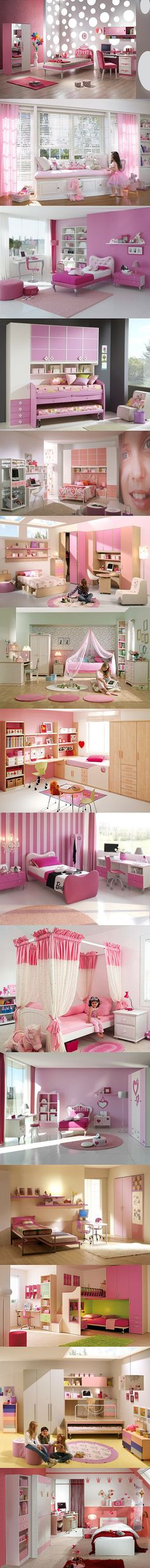 For my future baby girls in our ranch house😍 Baby Bedroom, Girls Bedroom, Bedroom Decor, Toddler Room Organization, Ideas Dormitorios, Girl Bedroom Designs, Princess Room, Pink Room, Awesome Bedrooms