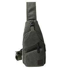 This Handsome MRoyale™ Sling Day Bag Helps You Easily Carry Your Essential Belongings In Rugged Style! Well-Constructed Tough canvas fabric is durable and wear-resistant, becoming your reliable companion for rugged use! Stylish The classic canvas look has a sporty appeal for a bold & rugged feel. The attractive copper-tone hardware adds the perfect accents. Compact, Yet Roomy Generous enough for your iPad Mini, cellphone, wallet, keys, ID card, credit card, small snacks. Convenient & Org Crossover Bags, Rugged Style, Canvas Designs, Day Bag, Retro Look, Mini Backpack, Metal Buckles, Military Fashion, Ipad Mini